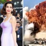 portada george amal clooney donaran 100 mil dolares victimas explosion libano - George y Amal Clooney donarán 100 mil dólares para las víctimas de la grave explosión en el Líbano