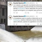 Informa Guardia Nacional que fue atacada por civiles armados en La Boquilla Chihuahua - Informa Guardia Nacional que fue atacada con armas de fuego en La Boquilla, Chihuahua