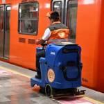 MAquinaMETROcovid19 - Metro de la CdMx compra maquinas que sanitizan partículas de la Covid-19 del piso