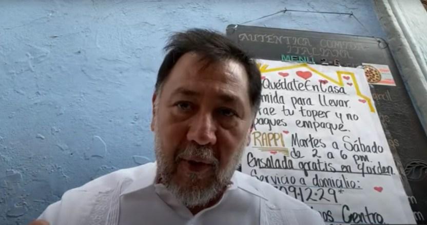 """norona - Noroña acusa a Sánchez Cordero de operar contra él. AMLO: """"No es cómo avanzamos, sin escrúpulos"""""""