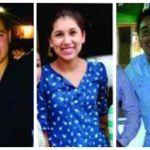 planton Puebla fiscalia desaparecidos - Con plantón, familiares de tres desaparecidos exigen a la Fiscalía de Puebla retomar investigación