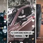 tiktok 1 - ¿Grupos criminales se anuncian en TikTok? Videos grabados desde la cárcel alertan a Italia