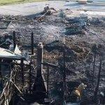 12 6 - Incendio destrozó una propiedad de la familia de la actriz Jennifer Lawrence (Fotos)