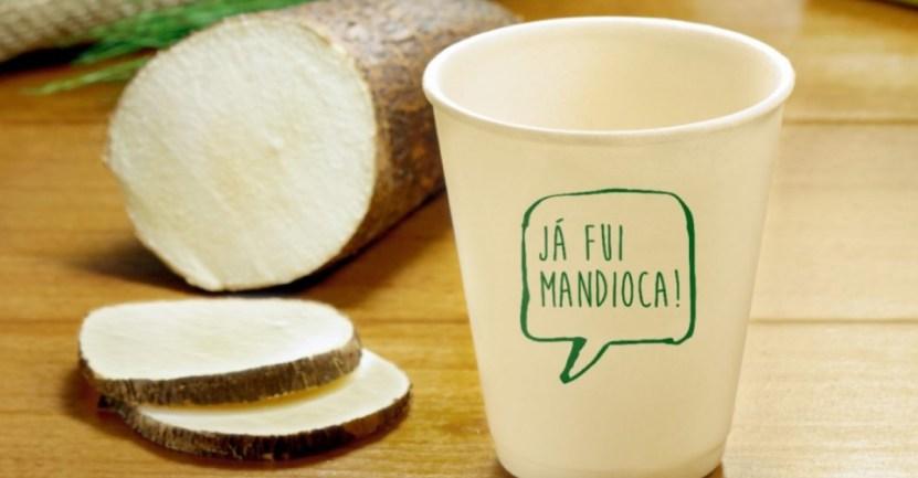 33 brasil yuca envases biodegradables ambiente cuidar - Brasileños crean envases biodegradables a partir de yuca. Disfrutan de un buen café sin contaminar