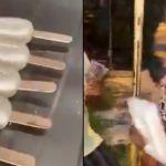 Jay Tomy - ¿Influencer o imbécil? Regaló helados hechos de jabón a dos abuelitos y provoca la furia de Internet (VIDEO)