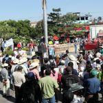 marcha - Campesinos protestan contra la construcción de termoeléctrica en La Huexca, Morelos (FOTOS)