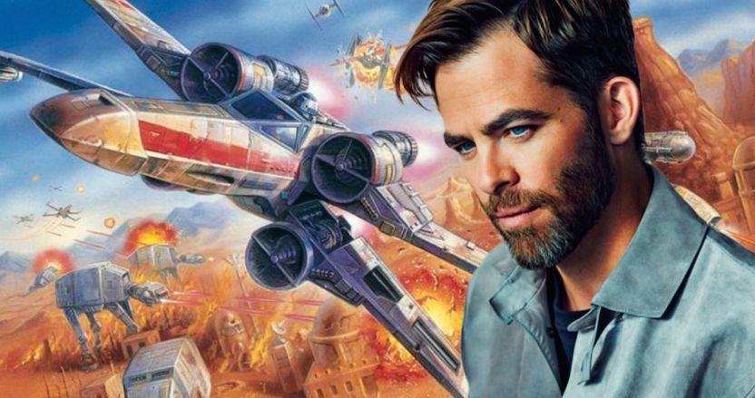1609407946 442884 1609408270 noticia normal - Chris Pine, emocionado con la historia de Rogue Squadron, la nueva cinta de Star Wars