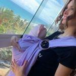 4 13 - ¡PRECIOSA! Con una hermosa dedicatoria, Nacho mostró a su bebé por primera vez (Foto)