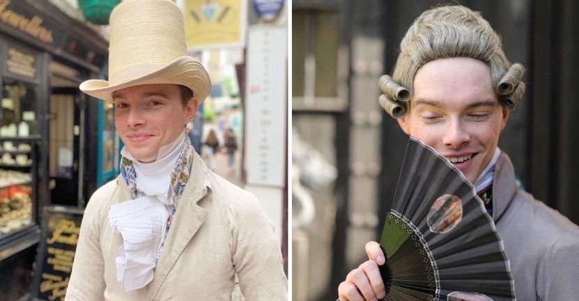 Portadas post 2 imagenes 11 1 1 - Questo giovane inglese ha smesso di indossare abiti moderni all'età di 14 anni. Indossa solo abiti storici, niente di più