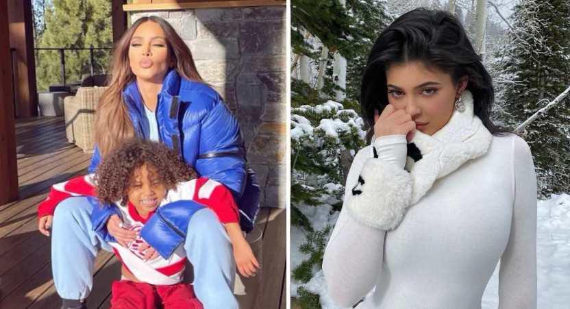 kardashian bikini - 20 fotos prueban que las Kardashian no solo lucen bien en bikini. Kylie luce sensual con abrigo