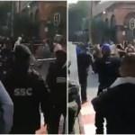 rina 3 - VIDEOS: Comerciantes ambulantes se rehúsan a quitar sus puestos y agreden a policías en CdMx