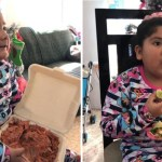 55 nina tacosalpastor diadereyes sabor compartir padres mexico - Niña pidió tacos en vez de juguetes el Día de Reyes en México. Adora disfrutar del verdadero sabor