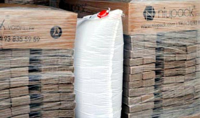 Bolsas hinchables para proteger las mercancias durante su transporte - Bolsas hinchables para proteger las mercancías durante su transporte