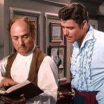 """Gene Sheldon y Guy Williams - La historia que marcó a Gene Sheldon, el actor que interpretó al entrañable Bernardo en """"El Zorro"""""""