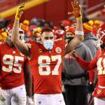 GettyImages 1298223023 - América se sube al tren del Super Bowl y felicita a su fan Travis Kelce