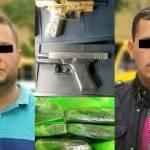 Pistola banada en oro - Detienen en Polanco a miembros del Cártel de Sinaloa con cocaína