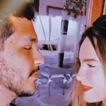 beli y christian rostros instagram crop1611089115631.jpg 242310155 - ¿Embarazados? Christian Nodal besa a Belinda en la pancita