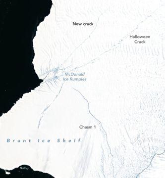 brunt oli 202112 1 e1611116073230 - ¿Será este año cuando se desprenda un gigantesco iceberg del doble de Nueva York?