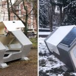 capsulas termicas personas sin hogar alemania 1024x533 1 - German city installs heated sleeping pods for people living on the street, They'll no longer suffer the cold.