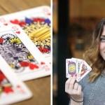 """cartas neutrales - Chica inventa cartas de """"género neutral"""" sin Rey, Reina ni Jota. Ya ha vendido más de 1.500 barajas"""