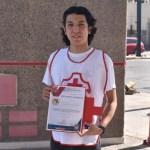 coordinacixn nacional congratula a juan como voluntario del axo crop1610301365730.jpg 242310155 - Juan Pablo es reconocido como Voluntario del Año por Cruz Roja