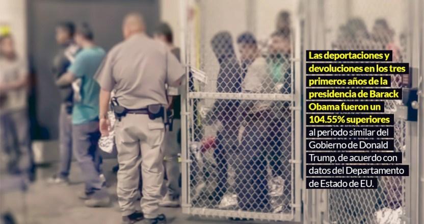 deporusa - Fueron años de terror y odio a los migrantes, pero Trump, dicen cifras, deportó menos que Obama