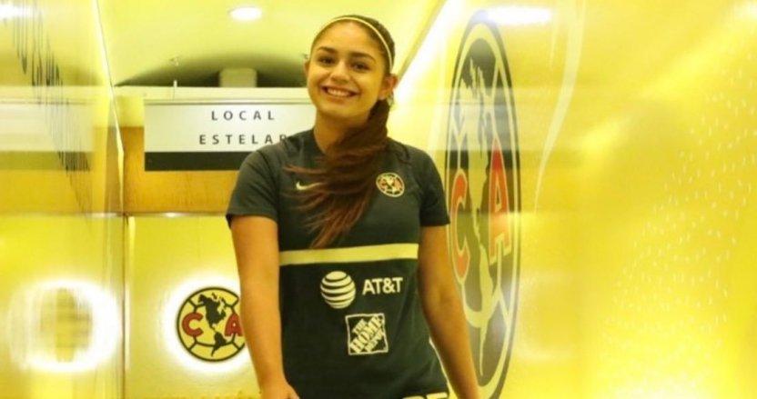 jana gutierrez - Jana Gutiérrez, mediocampista del América femenil, es amenazada de muerte en Twitter