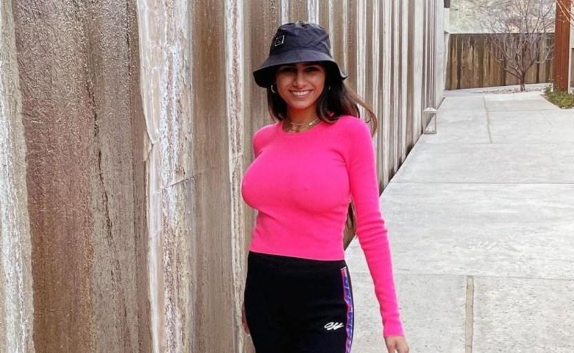 mia khalifa modelo y empresaria crop1611707994556.jpg 689165509 - Bañador rojo de Mia Khalifa realza su belleza y sus encantos