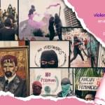 mujeres protest - Fue el año de #LaResistencia. En 2020, mujeres pisotearon el miedo y tomaron las calles, con furia