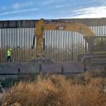 muro 1 - Donald Trump visitará la frontera con México el martes para destacar la ampliación del muro