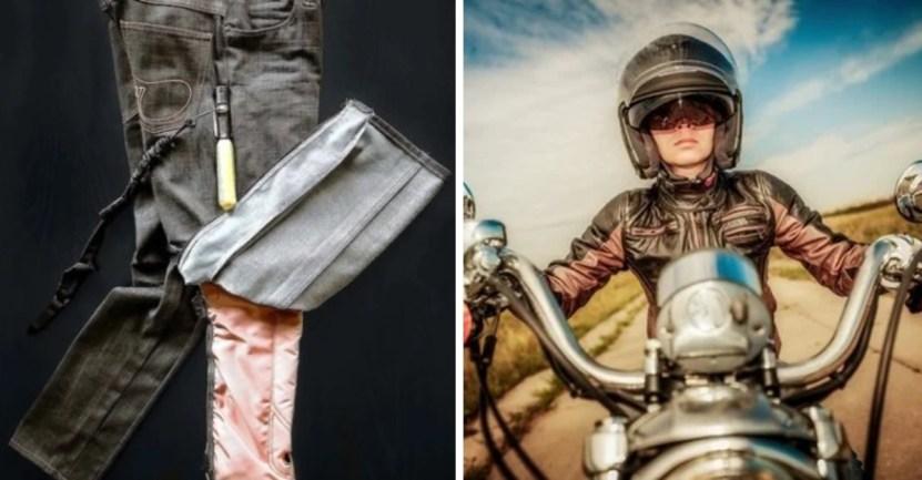 portada pantalones moto - Estos nuevos pantalones con airbag se inflan para proteger a motorizados. Los cuidarán del peligro