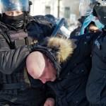 rusia protestas - Moscú exige a EU arreglar sus propios asuntos y dejar de criticar arrestos en protestas de Rusia