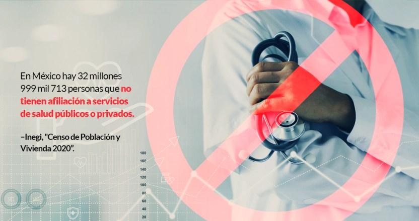 salud - El golpeado sistema de salud, sea público o privado, le da servicio a 7 de cada 10 mexicanos. El resto...