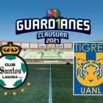 santos vs tigres crop1610932212105.jpg 242310155 - Sigue EN VIVO el Santos vs Tigres en la Liga MX