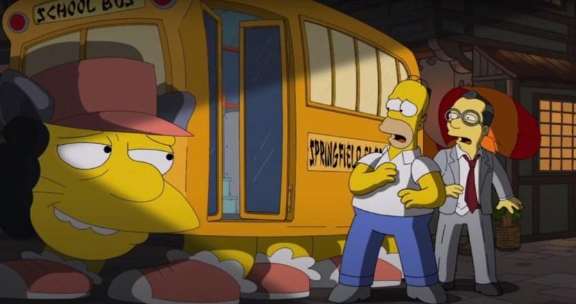 simpson homenaje - Los Simpson realizan un homenaje a Mi vecino Totoro, la obra maestra del Studio Ghibli y Hayao Miyazaki