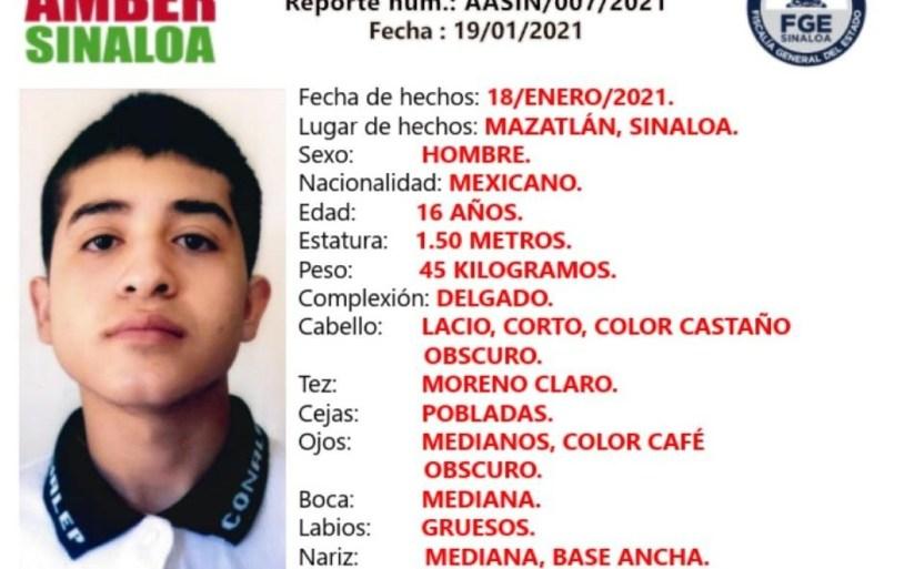 whatsapp image 2021 01 19 at 22 44 24 crop1611123562340.jpeg 242310155 - Adolescente desapareció en Ejido Barrón, Mazatlán, Sinaloa