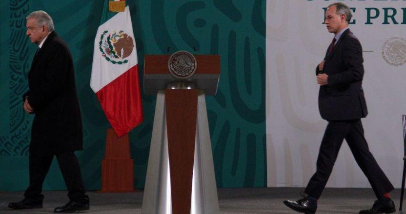 cuartoscuro 793668 digital - López Obrador dice que respeta mucho a López-Gatell pero que no piensa usar el cubrebocas