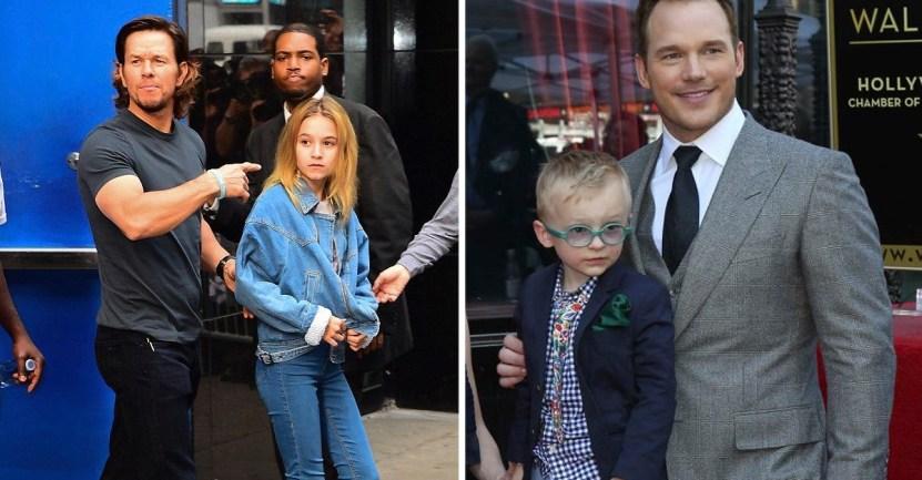 famosos hijos - 11 papás famosos que no logran impresionar a sus hijos. A Chris Hemsworth no le creen que es Thor