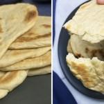 """portada sencillo pan casero naan ahorrara visitas panaderia - Este sencillo pan casero """"naan"""" te ahorrará las visitas a la panadería. Está hecho con yogurt y miel"""