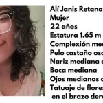 ali janis - Alí Janis, de 22 años, desaparece en CdMx; la vieron por última vez en el Metro Indios Verdes