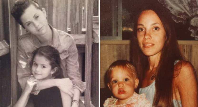 famosas madres - 14 fotos inéditas de las famosas posando junto a sus madres. Beyoncé es igual a su mamá