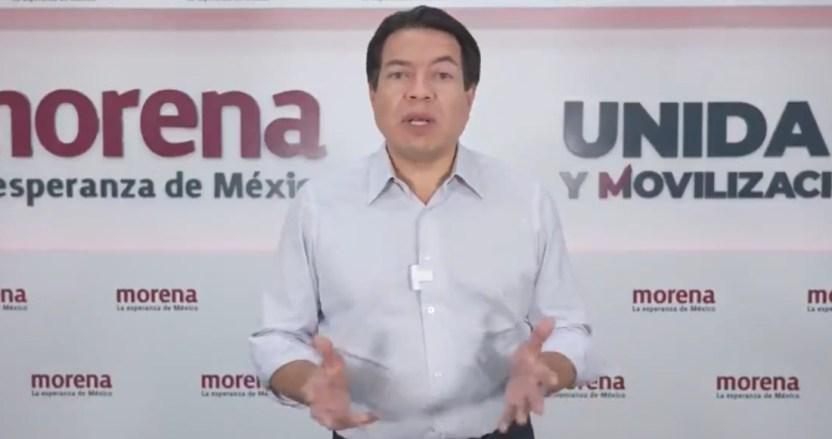 """mario delgado - El INE trata de cancelar más de 60 candidaturas de Morena con """"acciones desproporcionadas"""": Delgado"""
