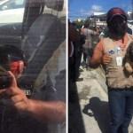 perro automovil ventana rescate - Mujer irresponsable dejó a su perro dentro de un auto sin ventilación. Lo salvaron y la multaron