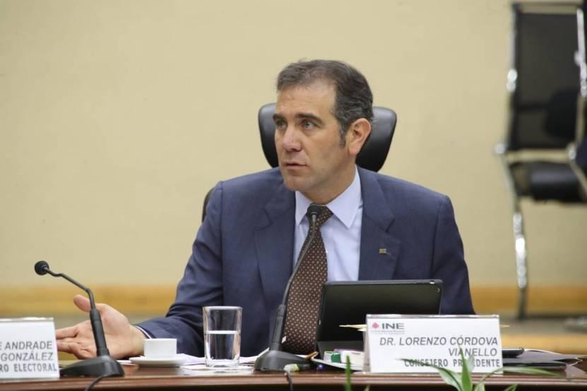 "54b4d517 6bd3 4afe a727 179ed5bfe9f3 - Lorenzo Córdova no quiere reforma al INE, hasta que haya ""consenso"""
