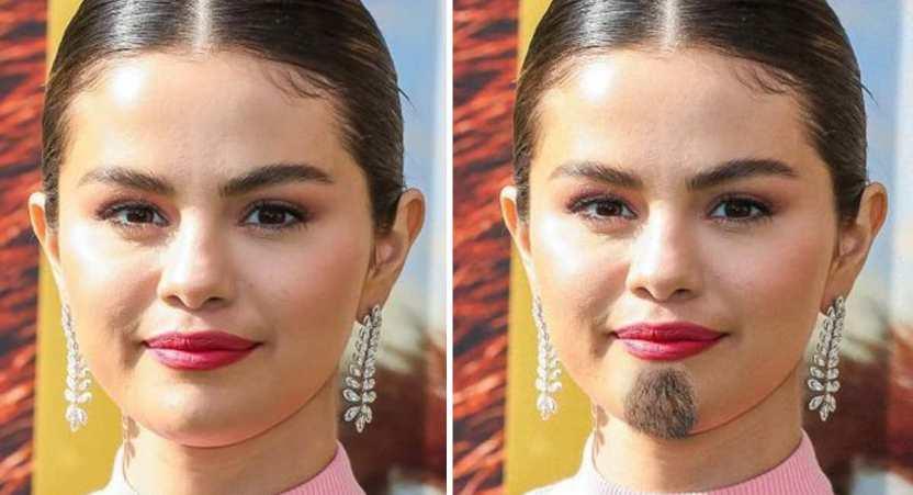 famosas barba - Así lucirían 13 famosas si tuviesen barba. Sofía Vergara hasta derrocha sensualidad