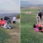 golf - VIDEO muestra pelea campal entre jugadores de golf en Querétaro. El que graba se ríe; la Red, también