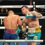 1A69B816 E8E1 4B7E 915A 545DC0A8B59B - Canelo vence a Saunders por knockout técnico