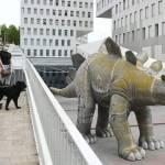 6IKALCQOJZFYRDDLZ6SSUV5IRU - Encuentran cadáver dentro de la estatua de un dinosaurio en España