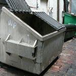 Contenedor dumpster 1517830 1920 - Arrestan a hombre 17 años después de hallar las piernas de su mujer cortadas en contenedor de basura