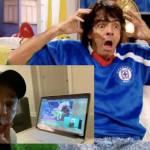 Diseno sin titulo 47 - Al estilo de Ludovico P. Luche, Eugenio Derbez celebra la victoria del Cruz Azul